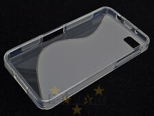 Transparent S-Types TPU Gel CASE Cover For BlackBerry Z10