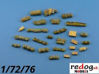 Redog 1:72 resin modelling/dioramas vehicle stowage military detailing kit /kxx