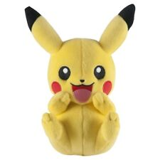 "POKEMON PIKACHU LAUGHING NINTENDO OFFICIAL TOMY LICENSED 9"" PLUSH NEW w/ TAGS"