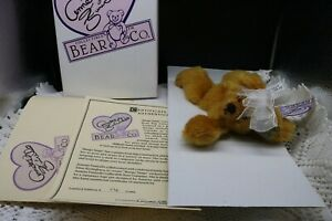 "Annette Funicello 6 1/2"" ""Mango Tango"" Bear 088087 with original box"