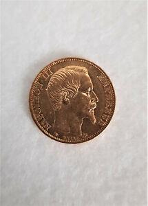 Pièce 20 Francs en or - Napoléon III Tête nue 1857 A