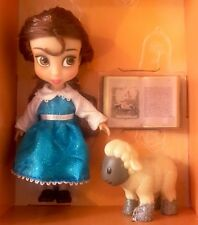 "DISNEY ANIMATORS' COLLECTION MINI DOLL 5"" BELLE BEAUTY & THE BEAST TOY FIGURE"