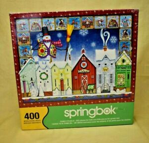 Springbok - Christmas Town by Jim Shore - 400 Piece Jigsaw Puzzle (New)
