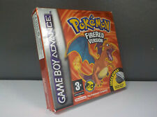 Pokemon Fire Red Game Boy Advance Boxed Game ID860