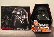 Star Wars DARTH VADER (Hasbro)& KYLO REN (Black Series) Masks/Voice Changers