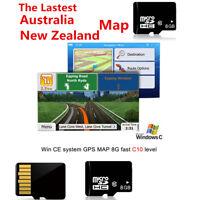 Car Win CE GPS Navigation Device 8G SD/TF Card MTK Main Chip North Australia Map