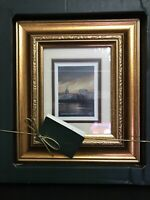 "Philip Gray Fine Ireland Art "" Nightfall"" Dublin City Signed & Framed In Box New"