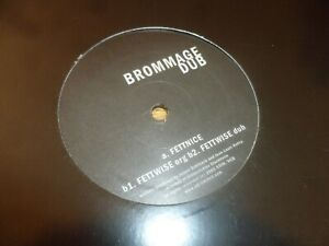 "BROMMAGE DUB - Fettnice - 2008 UK 3-track 12"" Vinyl Single"