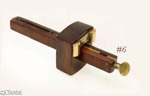 old antique patented STANLEY TOOLS ROSEWOOD MARKING GAUGE gage