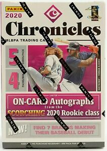 2020 Panini Chronicles MLB Baseball card Box. 4 EXCLUSIVE Unparalleled Cards NEW