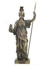 Greek Warrior Athena Roman Minerva Mother Goddess Military Statue #WU75974A4