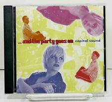 Capital Sound And The Party Goes On Music CD EDM Electronica Eurodance Import