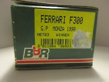 BBR 1/43 FERRARI F300 GP MONZA 1998 WINNER #3 SCHUMACHER #4 IRVINE KIT MET83