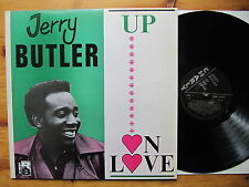 Jerry Butler Up On Love M -/M -! Curtis Mayfield Impressions Charly Rec. VINILE LP