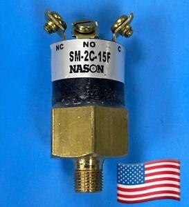 NASON OIL PRESSURE SWITCH SM-2C-15F NEW! Genuine Parts