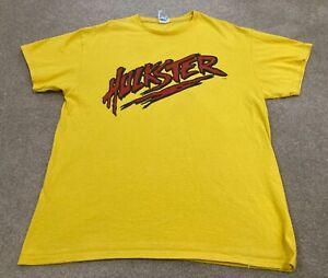 Vintage 90s Hulk Hogan Hulkster T Shirt Size Large Wrestling Memorabilia Rare