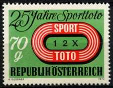 Austria 1974 SG#1721 Football Pools MNH #D63990