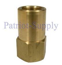 "Beckett 213U Oil Burner Nozzle Adapter - 1/4"" NPT (female) x 9/16""-24TPI"