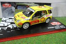 SUZUKI IGNIS S1600 Rallye Monte Carlo 2005 Jaune WILKS au 1/43 voiture miniature