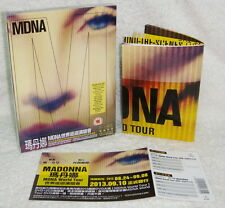 "Madonna MDNA World Tour Deluxe Edition Taiwan Ltd DVD+2-CD+""Folded"" poster"