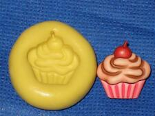 Cup Cake Push Mold Food Safe Silicone #779 Cake Chocolate Resin Clay Soap Cards
