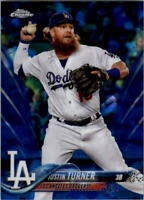 2018 Topps Chrome Sapphire Edition #599 Justin Turner