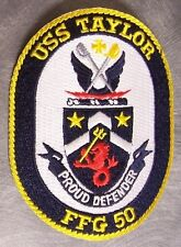 Embroidered Military Patch U S Navy ship Frigate USS Taylor DDG 50NEW