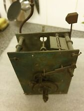 More details for c1830 30 hr longcase grandfather clock movement for spares
