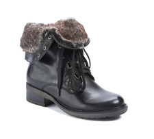 BareTraps Lace-up Boots with Faux Fur Lining - Henriette  size 7.5