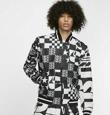 NIKE Sportswear Men's Jacket AOP Chequered Scorpion USA STARS Repeat Logo M