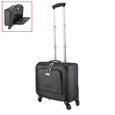 "16"" Travel Carry On Luggage Laptop Trolley Bag Universal 4 Wheels Business Case"