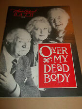 "THEATRE ROYAL BATH "" OVER MY DEAD BODY "" THEATRE PROGRAMME 1989 SINDEN WHITFIELD"