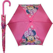 Disney Minnie Mouse Kids Umbrella with J Handle for Easy Use