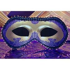 MYSTERIOUS MASK STANDEE * mardi gras masquerade party decor