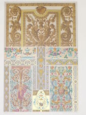 Peintures Murales Miniatures RACINET LITHOGRAPHIE Art Decoratif ART DECO 1870