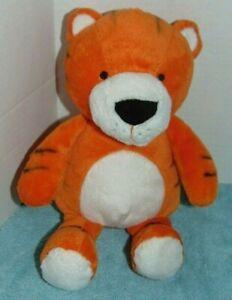 "Carters Orange Tiger Cat Plush 12"""