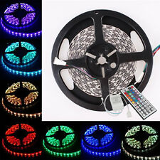 Hot Sale 5M SMD 300led RGB 5050 Non-Waterproof Strip Lights Flexible Lamp+44KEY
