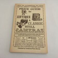 VERY EARLY Mc KEOWN PRICE GUIDE BOOK FOR THE ANTIQUE AND CLASSIC STILL CAMERAS