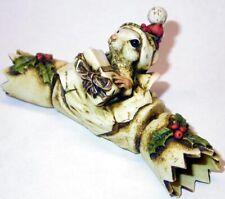 Harmony Kingdom Ar Neil Eyre Designs Christmas Cracker Santa Hat Mouse Le