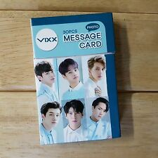 VIXX Photo Message Card 30pcs 5.5 cm x 8.5 cm KPOP Star GOODS New Gift