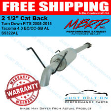 "MBRP 2 1/2"" Cat Back Turn Down FITS 2005-2015 Tacoma 4.0 EC/CC-SB AL #S5322AL"
