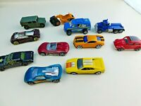 Lot of 11 Mixed Brands Hot Wheels Matchbox China Diecast Die Cast Cars