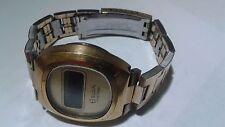 ELGIN SOLID STATE 1974 Time Capsule LCD Men's Watch