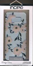 Samsung Galaxy S8+ plus INCIPIO phone case~Spring Floral ~Clear, metallic gold