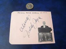 Teddy Jayle Band Leader  - Autograph (SA2)  Winifred Shotter to rear