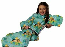 Fairies Flower Party Blanket/Sleeves Comfy Throw Girls Youth
