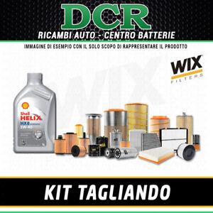 KIT TAGLIANDO ALFA ROMEO 159 2.4 JTDM 200CV 147KW DAL 09/2005 + SHELL HX8 5W40