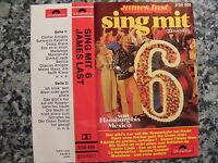 Musikkassette James Last / Sing Mit 6 – Album Polydor