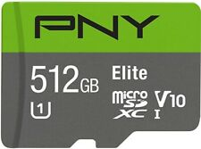 PNY Elite 512GB microSDXC Card