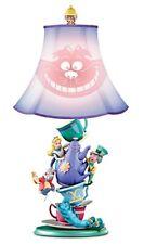 Disney's Alice In Wonderland Mad Hatter's Tea Party Bradford Exchange Lamp